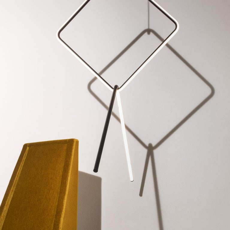 Italian FLOS Large Square and Small Circle Arrangements Light by Michael Anastassiades For Sale