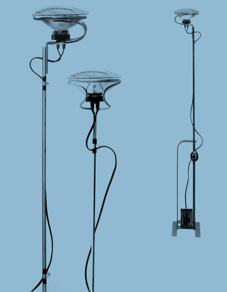 FLOS Limited Edition Toio Lamp in Matte-Black, 1stdibs Exclusive For Sale 1
