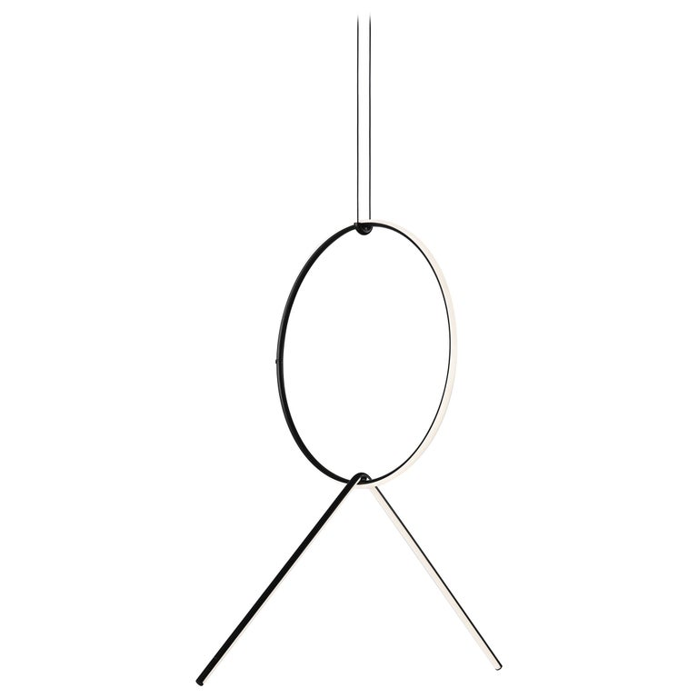 FLOS Medium Circle & Broken Line Arrangements Light by Michael Anastassiades For Sale