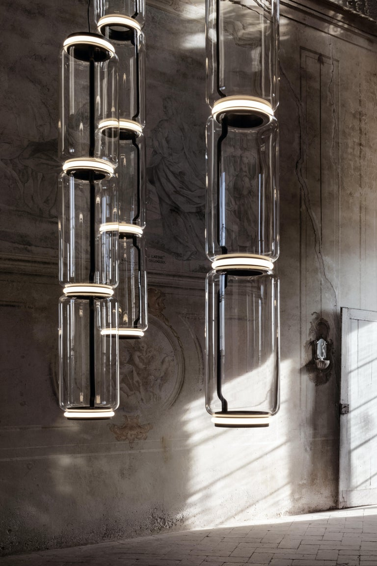 Flos Noctambule Pendant Light with 4 Cylinders by Konstantin Grcic In New Condition For Sale In New York, NY