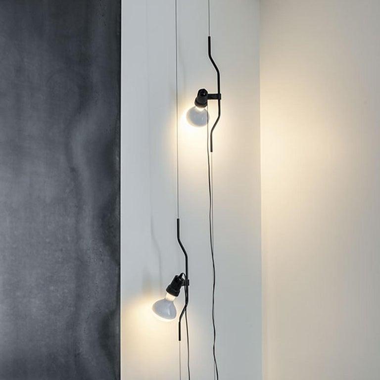 Flos Parentesi Pendant Light in Nickel by Achille Castiglioni & Pio Manzu For Sale 3