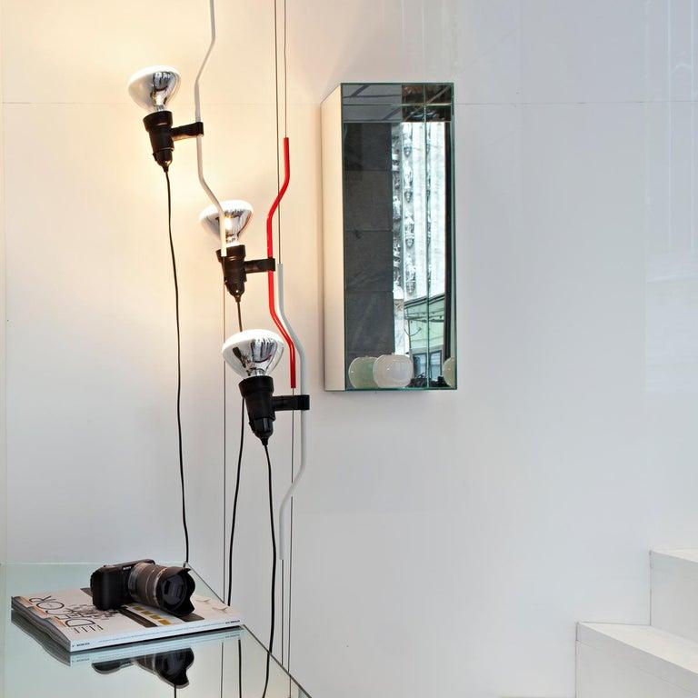 Flos Parentesi Pendant Light in Nickel by Achille Castiglioni & Pio Manzu For Sale 5