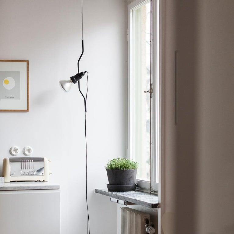 Flos Parentesi Pendant Light in Nickel by Achille Castiglioni & Pio Manzu For Sale 1