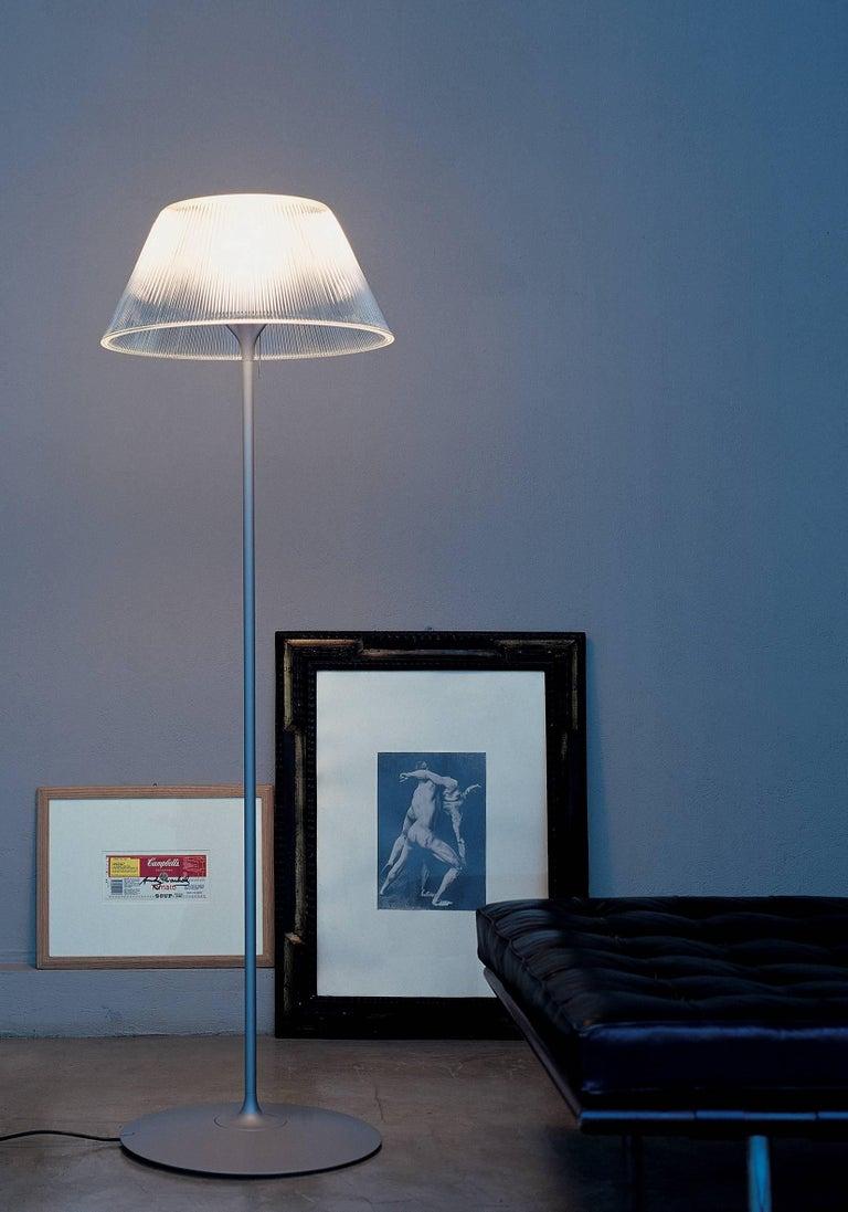 Italian FLOS Romeo Moon F Halogen Floor Lamp by Philippe Starck For Sale