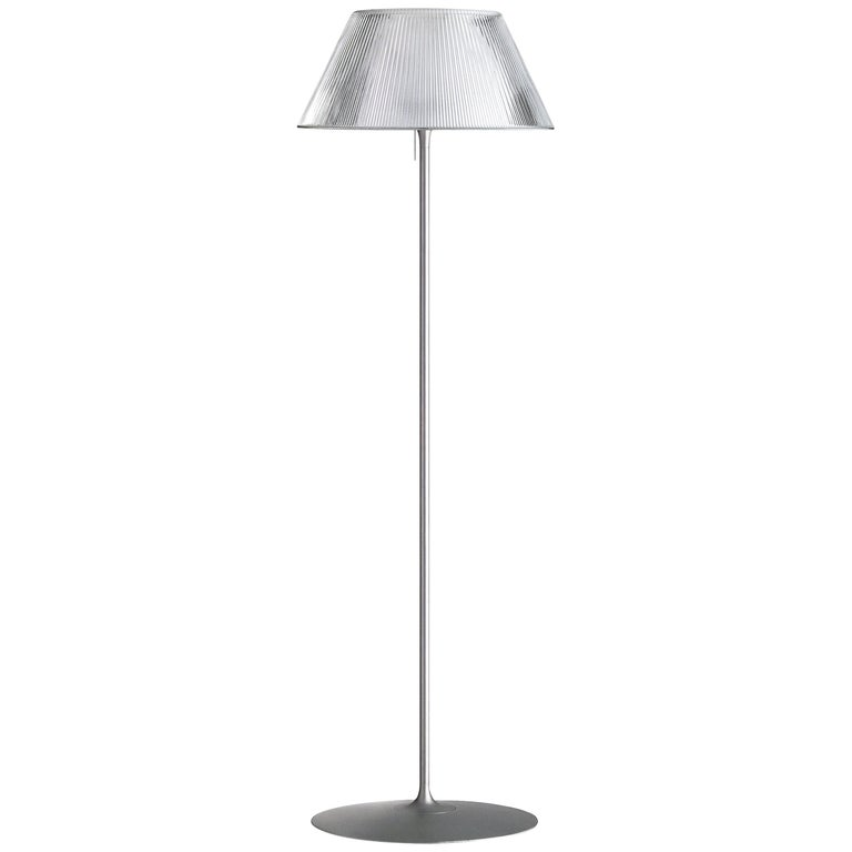 FLOS Romeo Moon F Halogen Floor Lamp by Philippe Starck For Sale