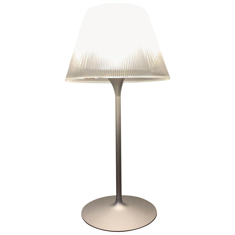 Flos Romeo Moon T1 Table Lamp by Philippe Starck For Sale