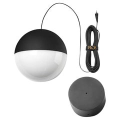 Flos Round String Light with Canopy by Michael Anastassiades