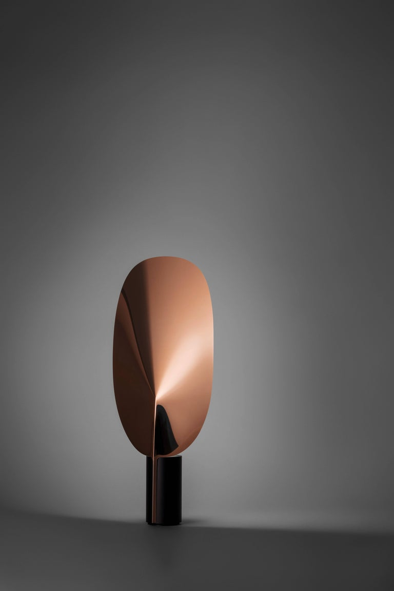 Modern FLOS Serena LED Table Lamp in Black by Patricia Urquiola For Sale