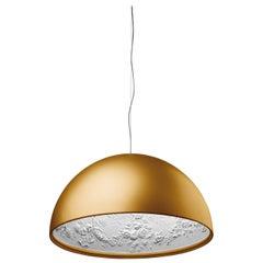 FLOS Skygarden S1 Halogen Pendant Light in Gold by Marcel Wanders
