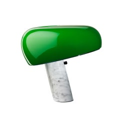 FLOS Snoopy Table Lamp in Green by Achille & Pier Giacomo Castiglioni