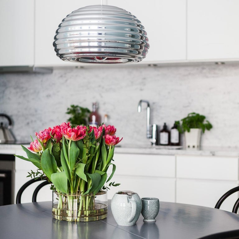 Aluminum FLOS Splugen Brau Pendant Light by Achille & Pier Giacomo Castiglioni For Sale