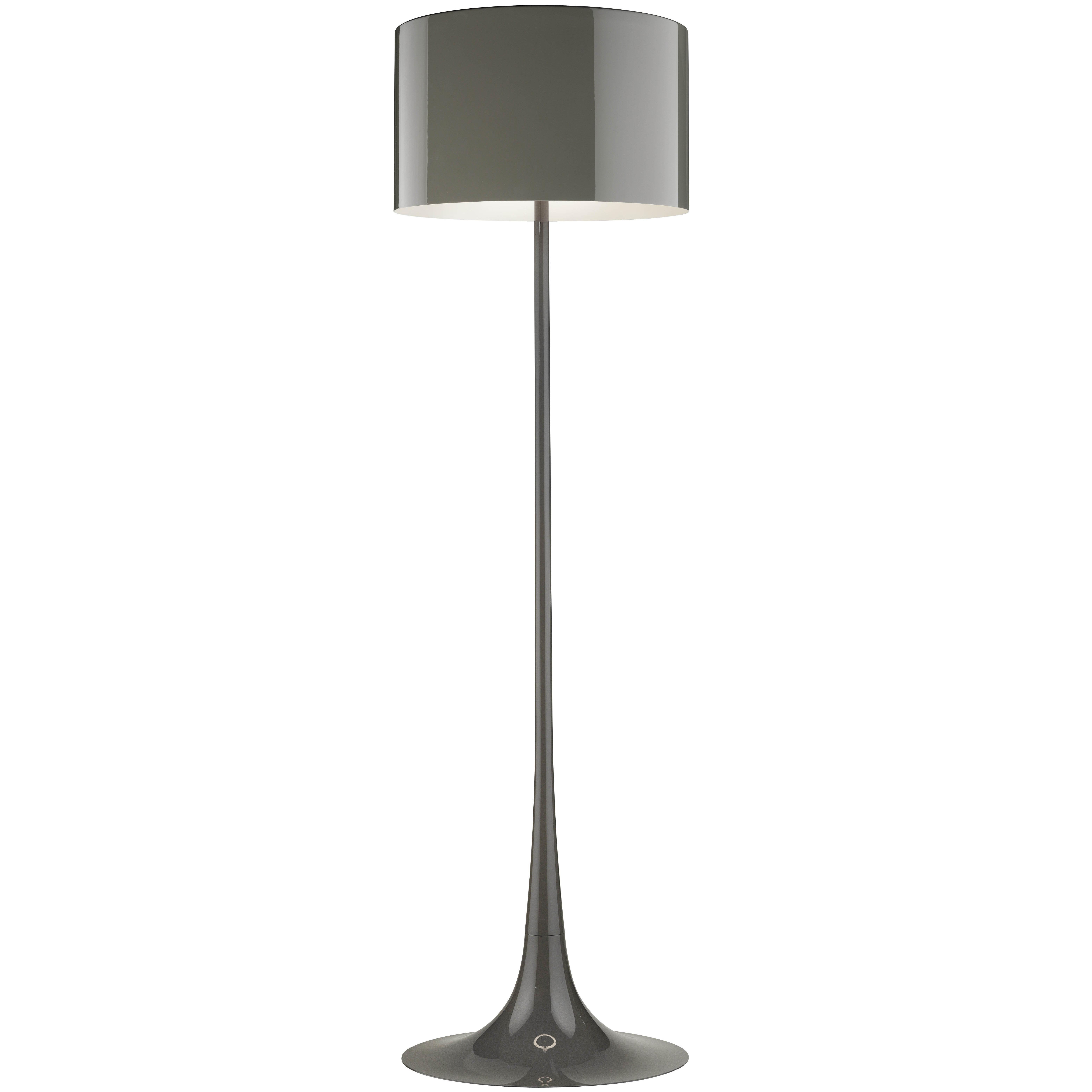 FLOS Spun Light Floor Lamp in Mud by Sebastian Wrong