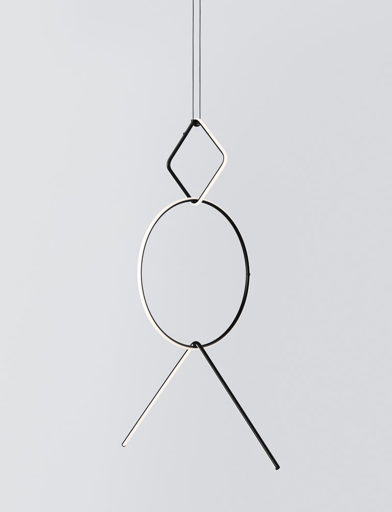 Free Gift with Purchase if you Shop this Item! www. 1stdibs .com/info/gift-with-purchase/ Arrangements is a modular system of geometric light elements that can be combined in different ways, creating multiple compositions into individual