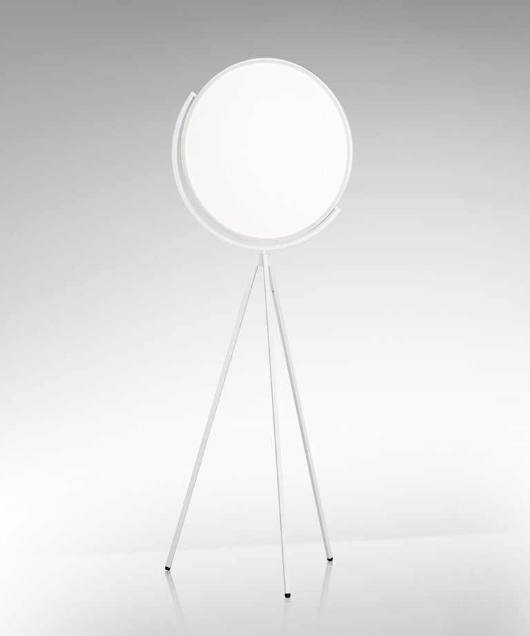 Italian FLOS Superloon Floor Lamp in White by Jasper Morrison For Sale