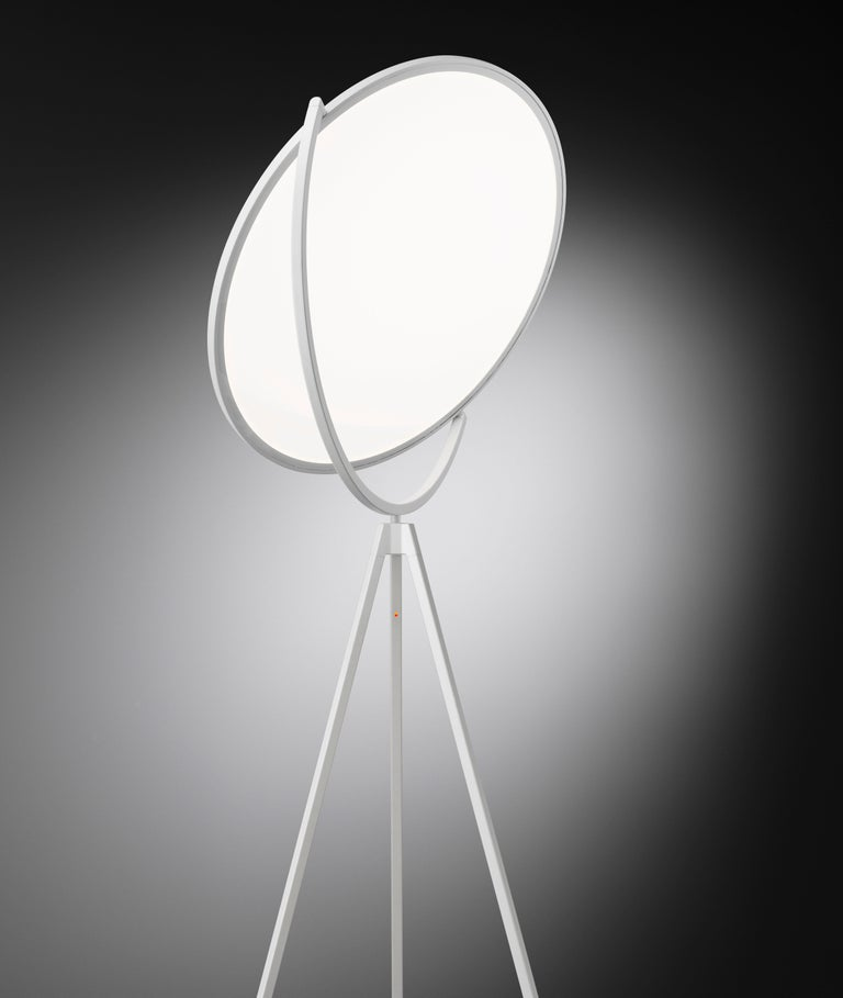 Contemporary FLOS Superloon Floor Lamp in White by Jasper Morrison For Sale