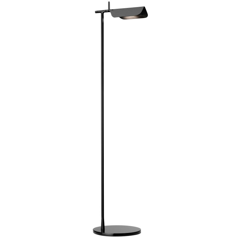 Flos Tab Led Floor Lamp In Black By E Barber And J