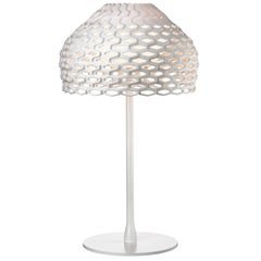FLOS Tatou T1 Dimmable Halogen Table Lamp in White by Patricia Urquiola