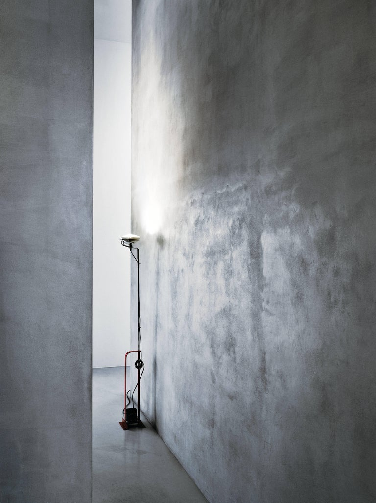 Modern FLOS Toio Floor Lamp in Black by Achille & Pier Giacomo Castiglioni For Sale