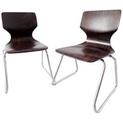 Flötotto Childrens Chairs, Pair