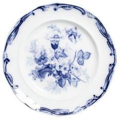 Flow Blue Serving Dish