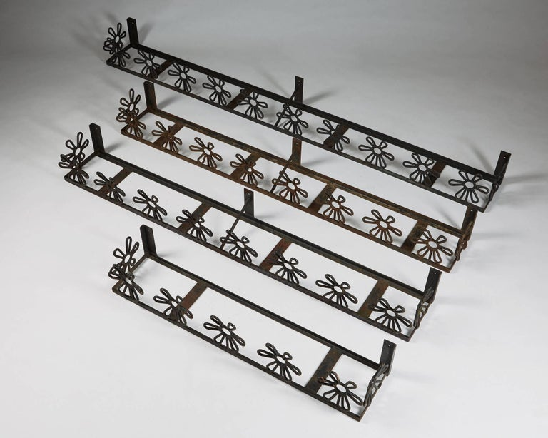 Scandinavian Modern Flower Boxes Anonymous, Sweden, 1950s For Sale
