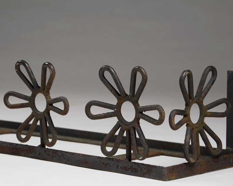 Forged Flower Boxes Anonymous, Sweden, 1950s For Sale