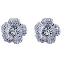 Flower Diamond Earrings