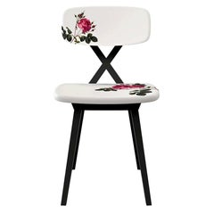 Flower Dining Chair by Nika Zupanc, Made in Italy, In stock in Los Angeles