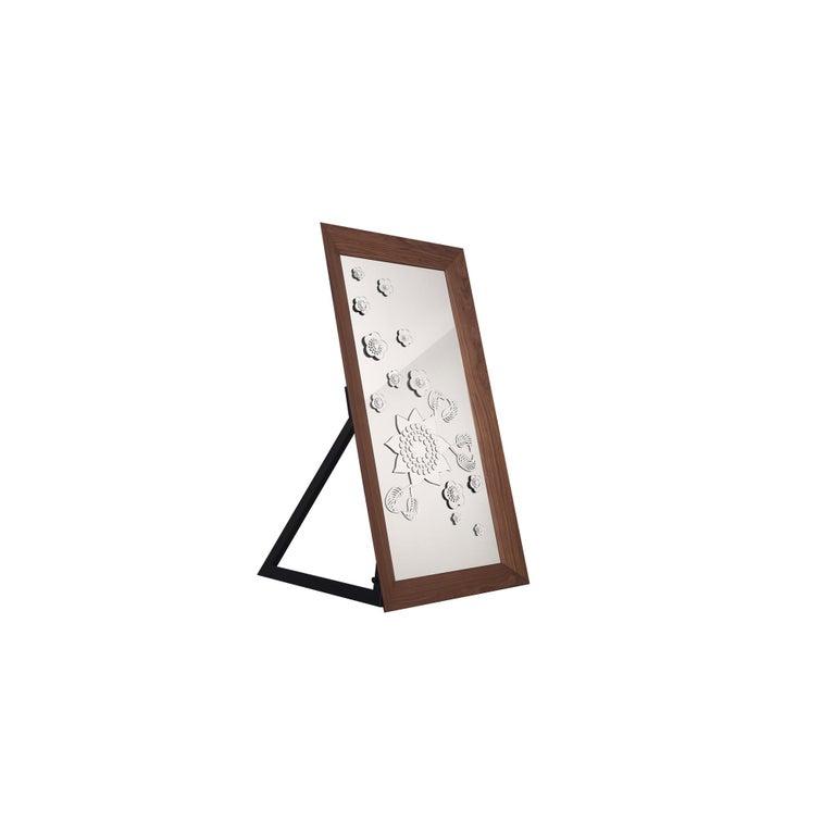 Flower Power Floor Mirror For Sale