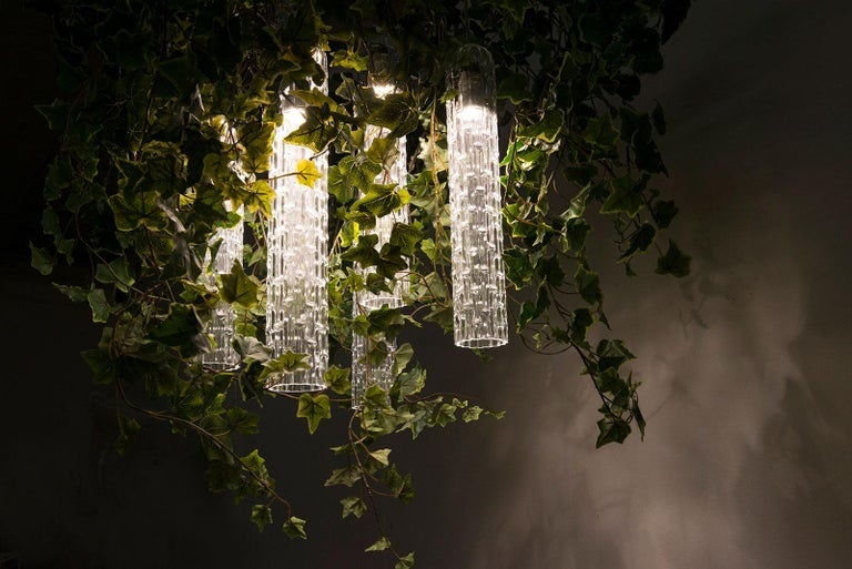 Flower Power Ivy Chandelier, Italy In New Condition For Sale In Quinto di Treviso, Treviso
