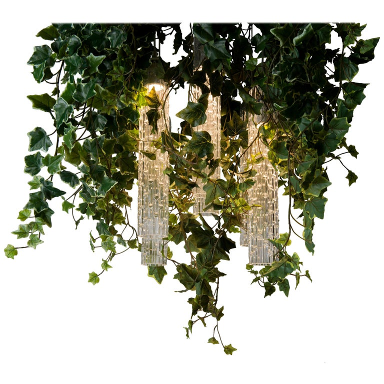 Flower Power Ivy Chandelier, Italy For Sale