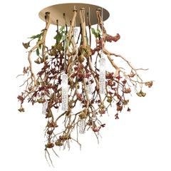 Flower Power Manzanita Chandelier, Italy