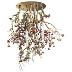 Flower Power Manzanita Chandelier