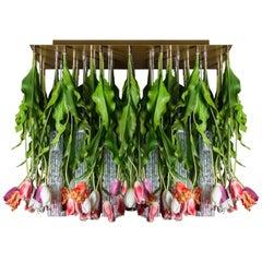 Flower Power Tulip Chandelier, Italy