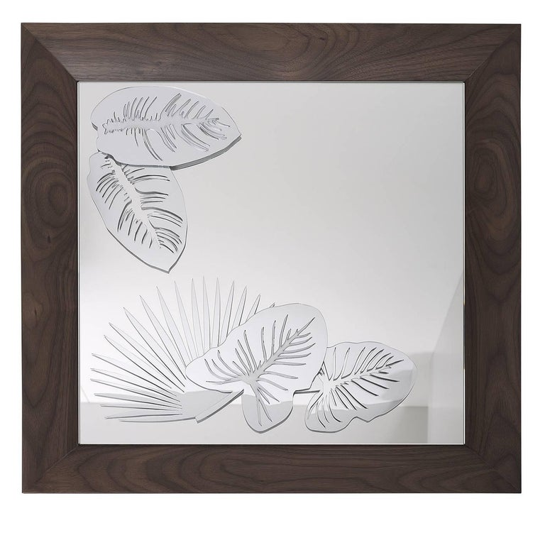 Flower Power Wall Mirror For Sale