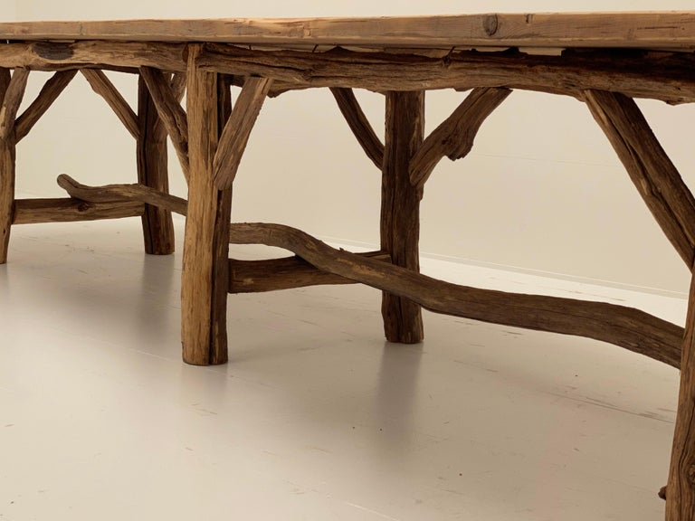 Flower Shop Table from South of France For Sale 4