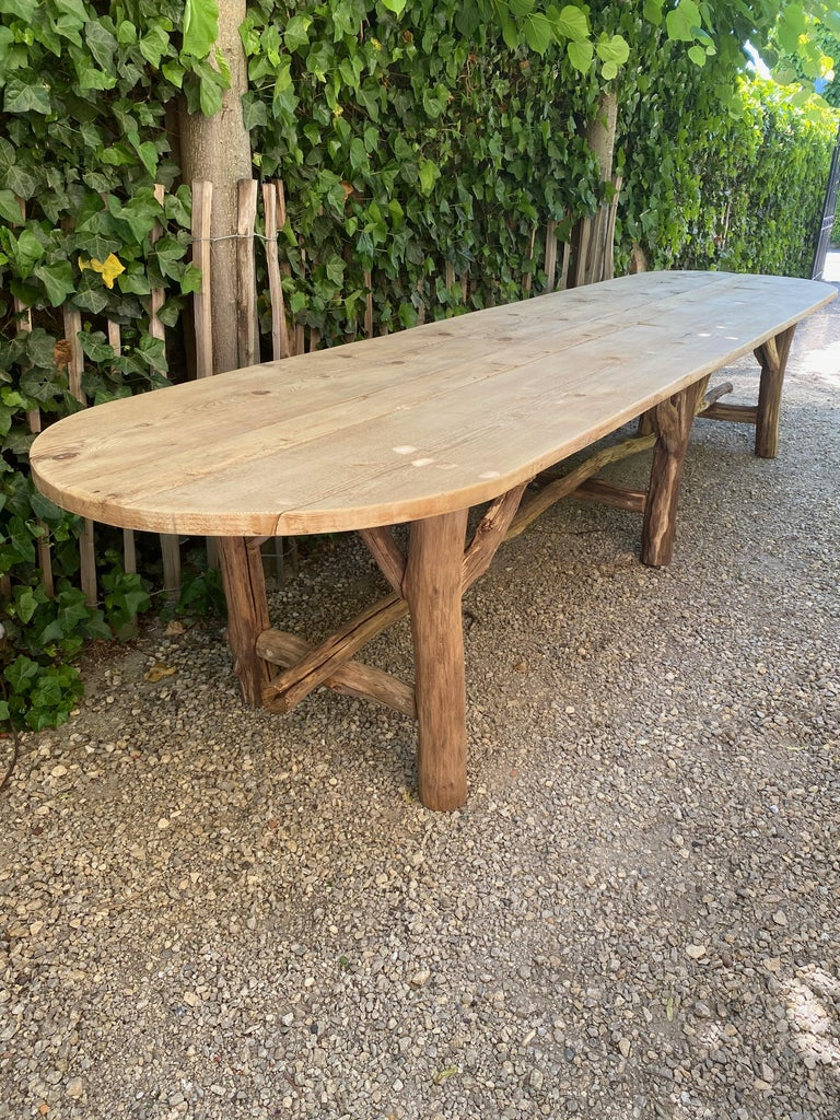 Flower Shop Table from South of France For Sale 6