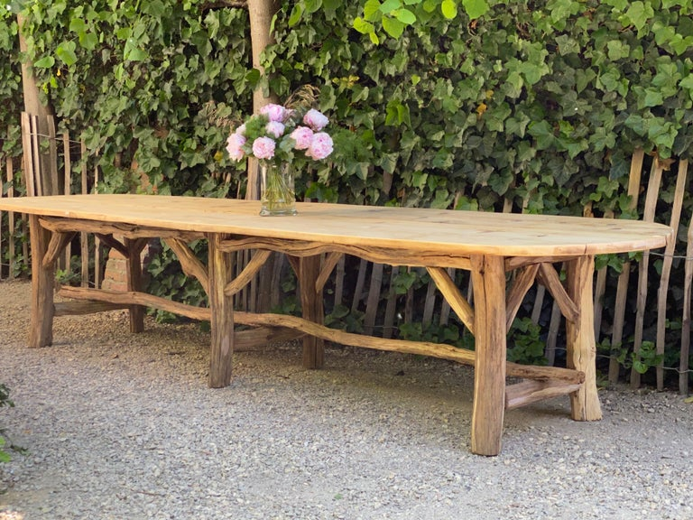 Flower Shop Table from South of France For Sale 8