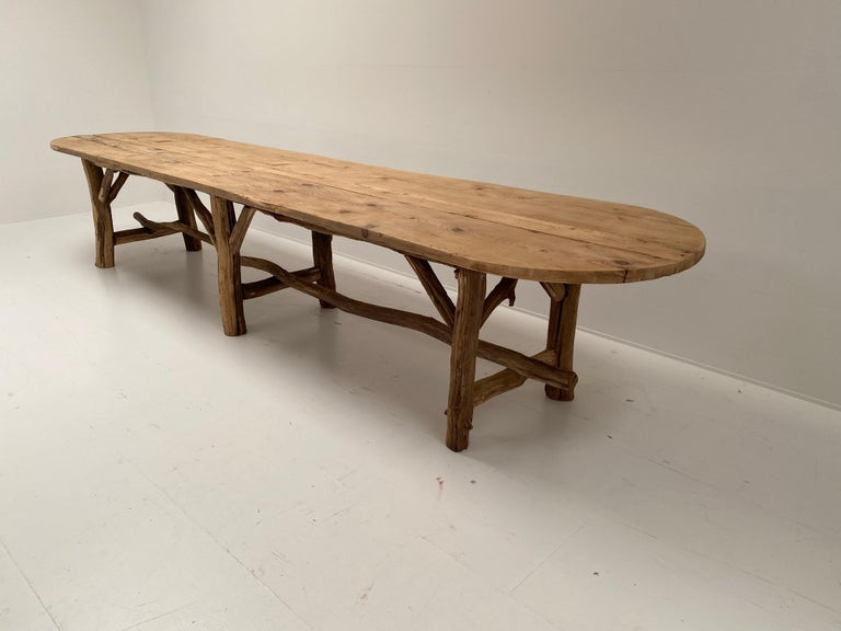 French Flower Shop Table from South of France For Sale