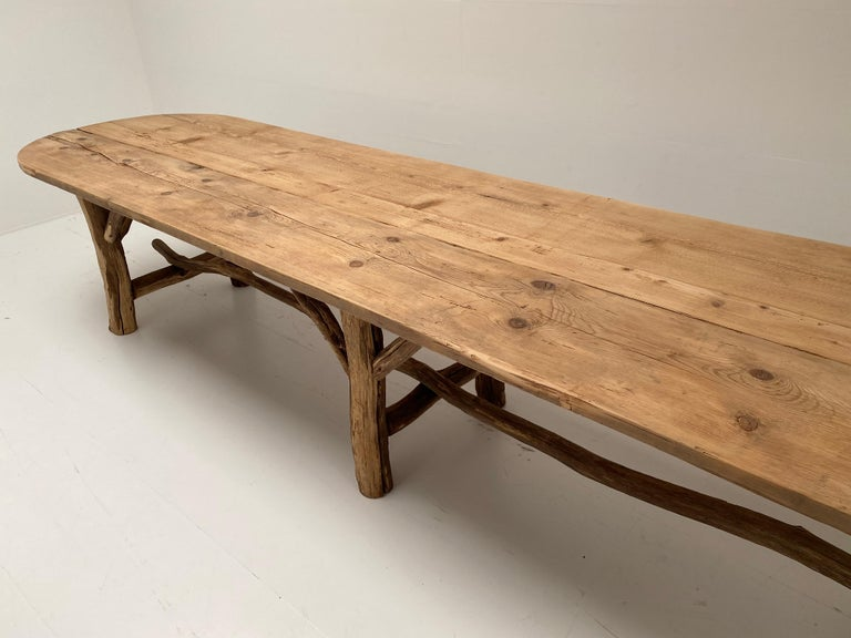 Flower Shop Table from South of France In Good Condition For Sale In Schellebelle, BE