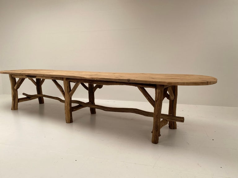 Flower Shop Table from South of France For Sale 1