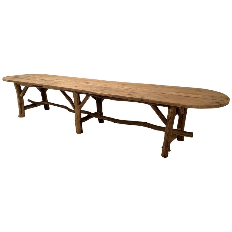 Flower Shop Table from South of France For Sale