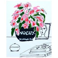 Flower Vase, Pink