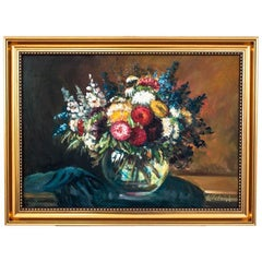 """""""Flowers in a vase"""" Painting"""