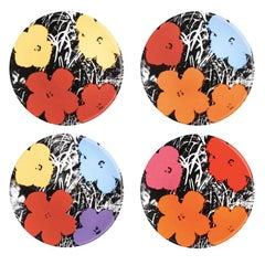 Blumen Teller-Set von Andy Warhol