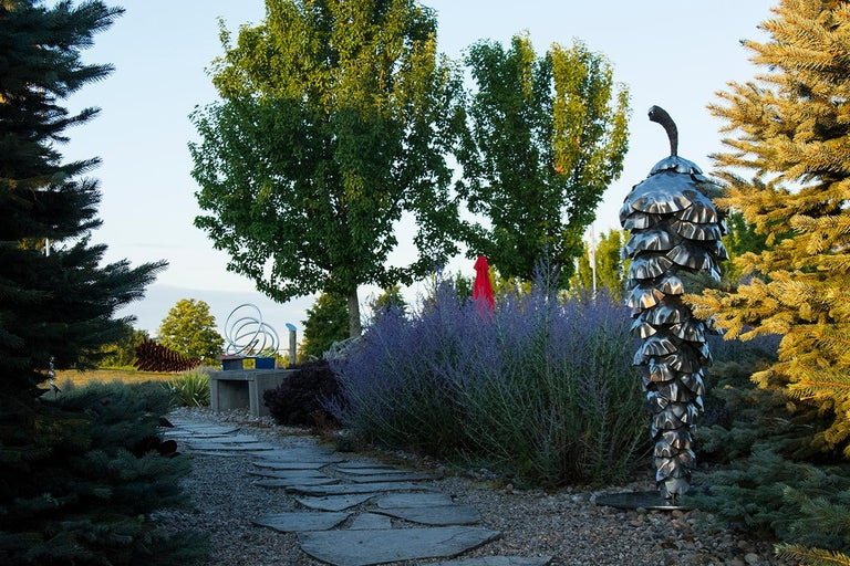 Balance - Pine Cone - Sculpture by Floyd Elzinga