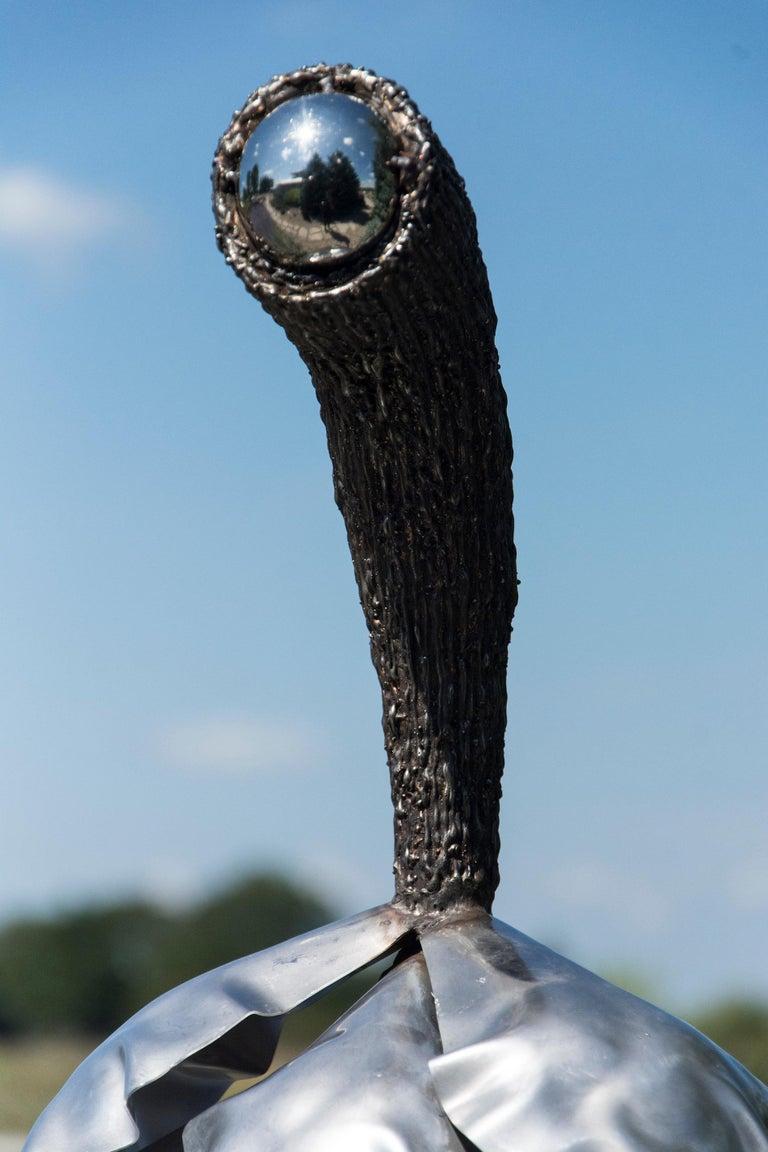 Balance - Pine Cone - Contemporary Sculpture by Floyd Elzinga