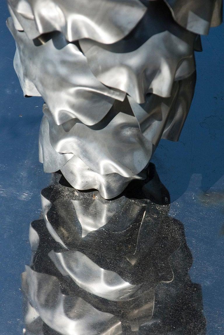 Balance - Pine Cone - Black Still-Life Sculpture by Floyd Elzinga