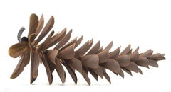 Original steel sculpture by Floyd Elzinga PINE CONE 18611