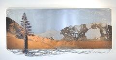 Original steel wall panel by Floyd Elzinga BANFF #19-507